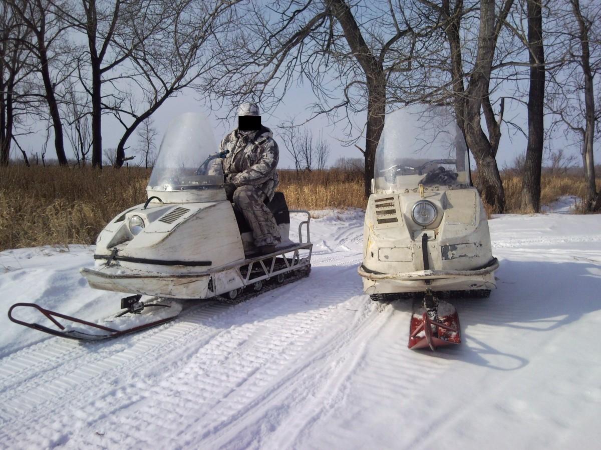 Лыжа штампованная для снегохода Буран